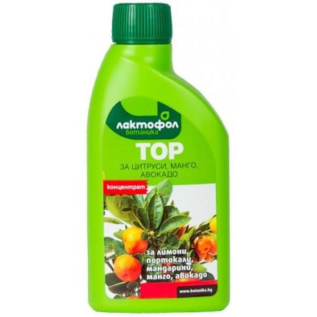 Лактофол - течен тор за цитрусови цветя 0.25 л.